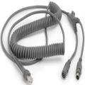 CBA-K06-C12PAR - Zebra Kabel klawiaturowy PS/2