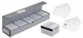 Karty plastikowe ZEBRA PVC Premier typu karta-klucz, potrójne białe - 104523-020